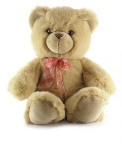 Beige teddy bear